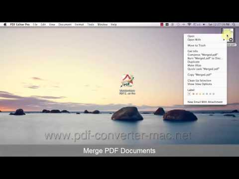 [PDF Editor Mac] How to Split and Merge PDF documents?