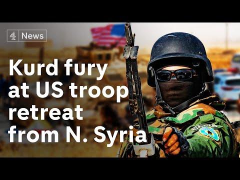 Xxx Mp4 Syria Kurds 39 Fury As Trump Orders US Troop Withdrawal 3gp Sex