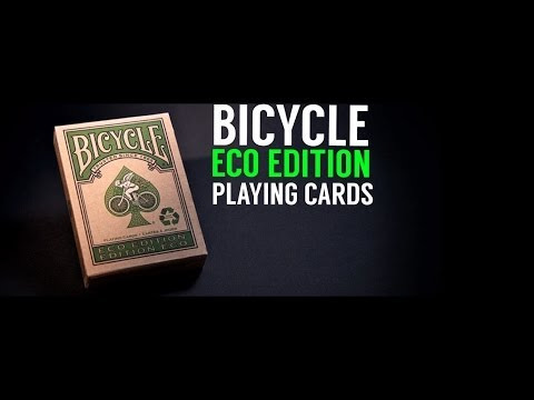 Deck Review - Bicycle Eco Edition Playing Cards - Made by USPCC