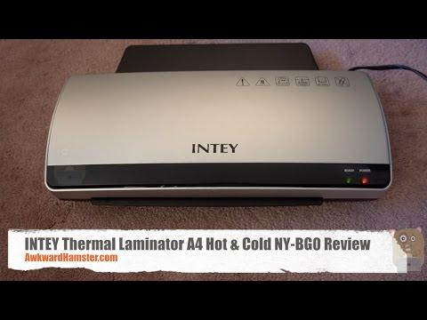 INTEY Thermal Laminator A4 Hot & Cold NY-BG0 Review