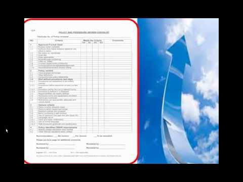Policy&Procedures Format