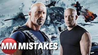 Fast and Furious 8 Fate of the Furious Movie Mistakes You Didn't Notice | Fast and Furious Goofs
