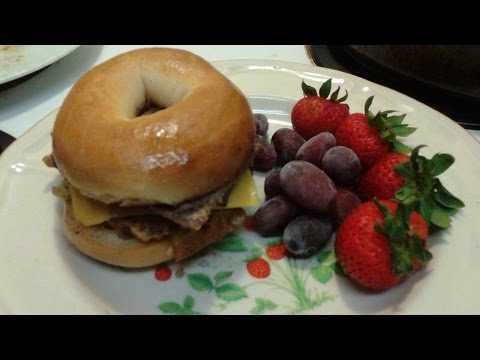 Egg Steak and Cheese Bagel just like McDonalds