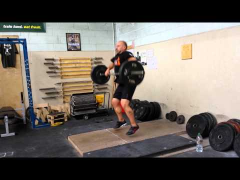 Silverback 60 hang clean drill