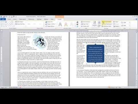 Hindi Microsoft Word pt 4 (Insert Cover page, Table, Picture, Clip Art, Smart Art)