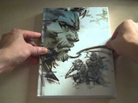 Metal Gear Solid HD Collection Limited Edition PS3 Unboxing