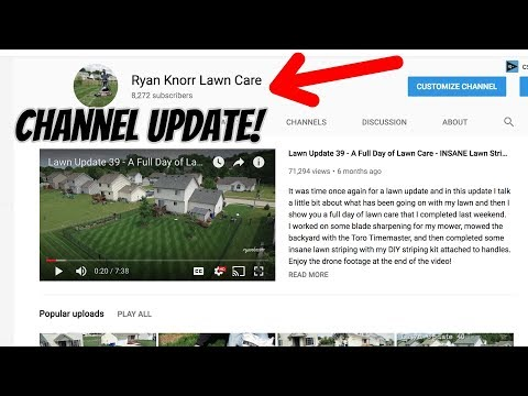 2018 Lawn Care Channel Branding and Instagram Update