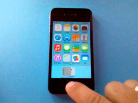 How To Hide Apps iOS 7 - 7.0.6