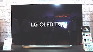 LG OLED TV AI ThinQ hands on and initial impressions!