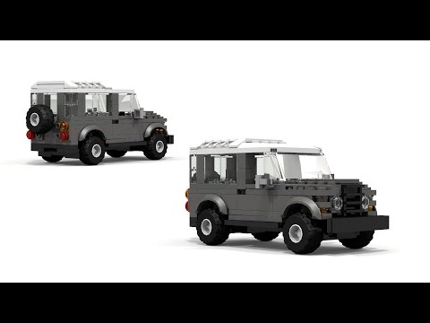 LEGO Land Rover Defender 4x4 Instructions