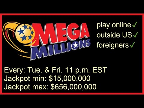 How to play US MegaMillions Lotto online - outside the US (UK, Canada, Australia)