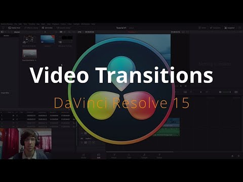 Video Transitions in DaVinci Resolve 15 Tutorial