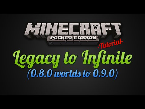 [Tutorial] Make a Legacy World Infinite - Minecraft Pocket Edition