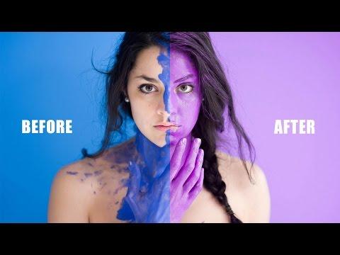 LIghtroom Tutorial : Change Background Color