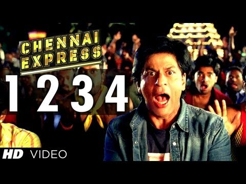 Review : Chennai Express Song One Two Three Four and Official Trailer
