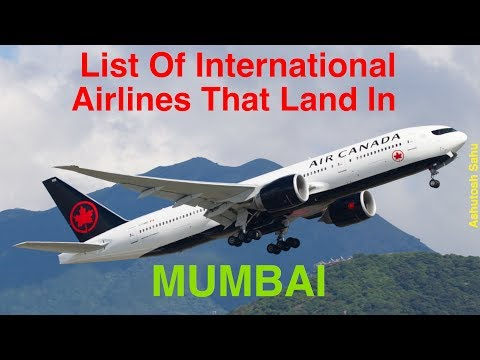 List of International Airlines That Land in MUMBAI (2016)