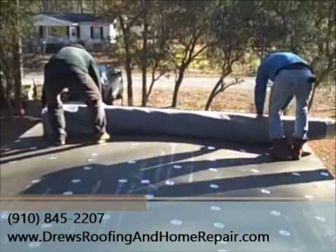 EPDM Rubber Roofing Over Mobile Home | Southport NC
