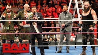 Kurt Angle raises the stakes for Raw