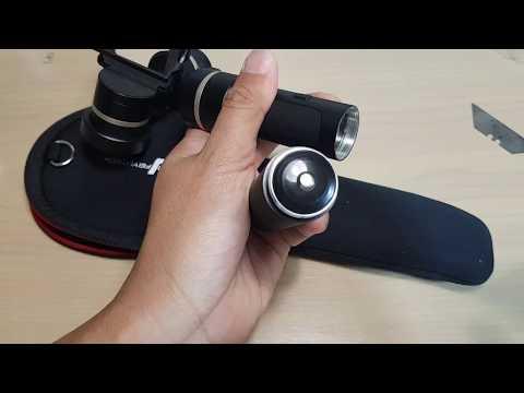 Feiyu G5 Gimbal: How to Insert / Remove a Battery