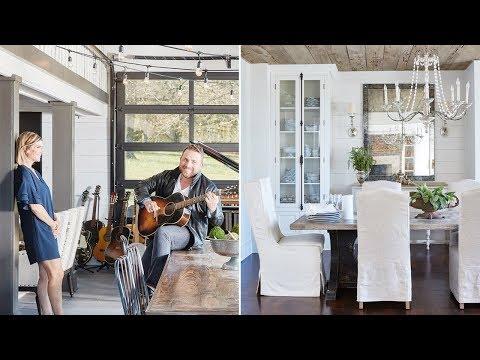 Interior Design: Johnny Reid's Stunning Nashville Farmhouse
