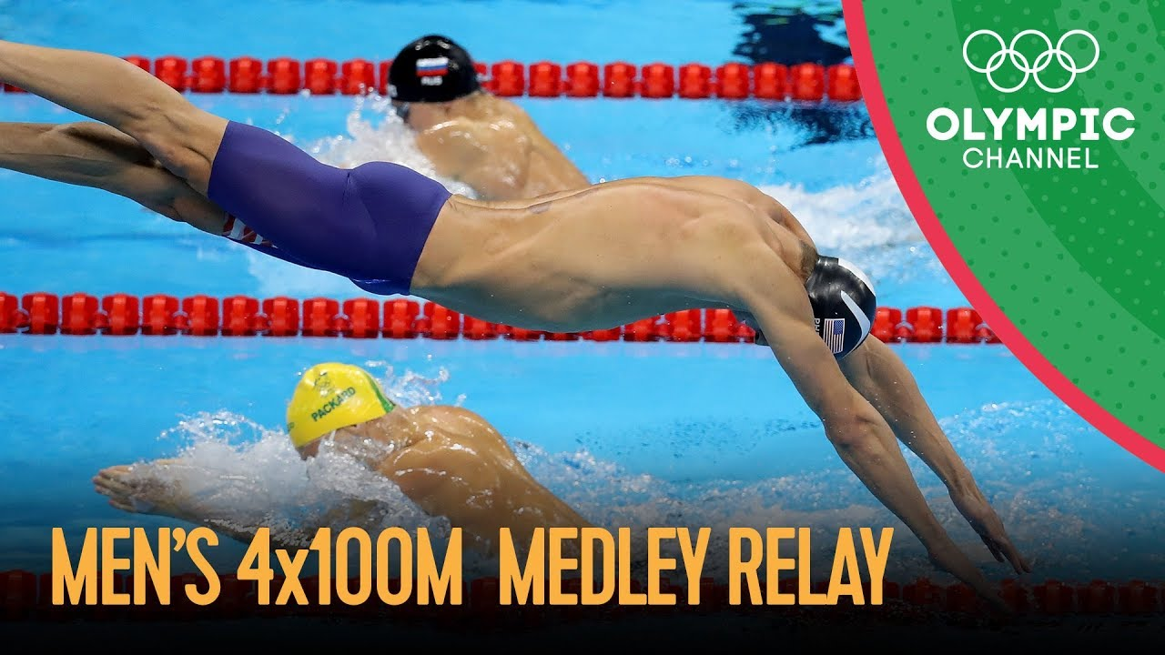 Michael Phelps Last Olympic Race - Swimming Men's 4x100m Medley Relay Final   Rio 2016 Replay