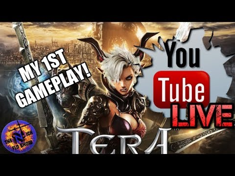 TERA | 1st TIME PLAYER | PS4 LANCER TANK AND BUFFS!