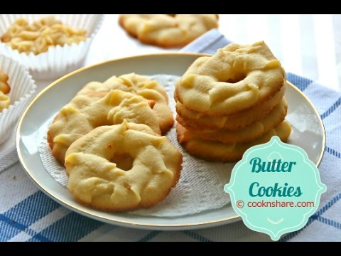 Melt in Your Mouth Old Fashioned Butter Cookies