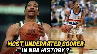 Meet Alex English: The NBA's Greatest Scorer in the 1980's