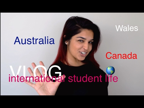 VLOG| My Personal Experience as an International Student| Australia Canada UK