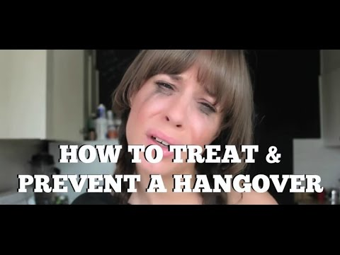 How to get rid of a hangover...and prevent it!