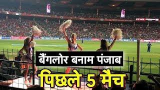 Bangalore vs Punjab: Last 5 Games | Sports Tak