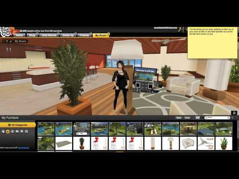 IMVU - How To Delete Items From Your Room