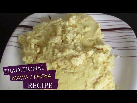 Mawa Or Khoya   Traditional Recipe Without Milk Powder