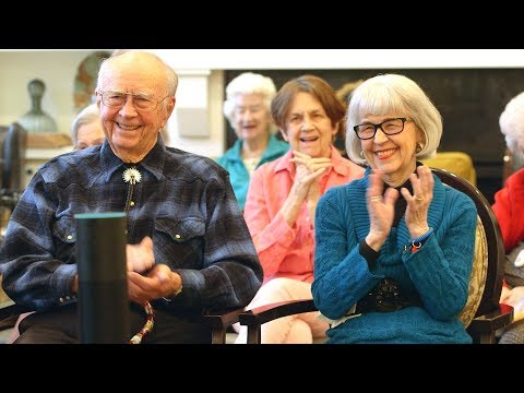 Alexa brings more moments of joy to these retirees