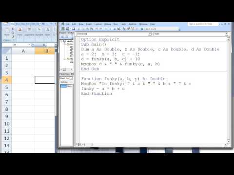 Excel VBA Topic 5.1 - Function Procedures