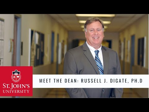 Meet The Deans: Russell J. DiGate, Ph.D., College of Pharmacy and Health Sciences