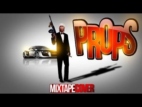 How To Make & Create Mix-tape Cover Props in Photoshop Adobe CS6 PSD & Flyer Design Tutorial