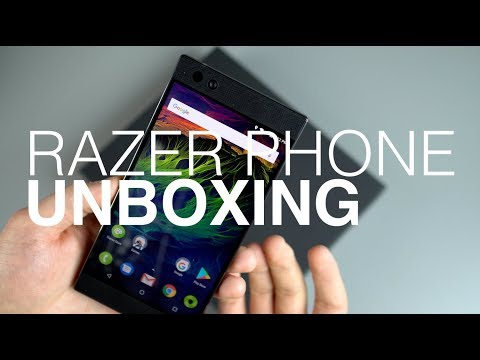 Razer Phone Unboxing!