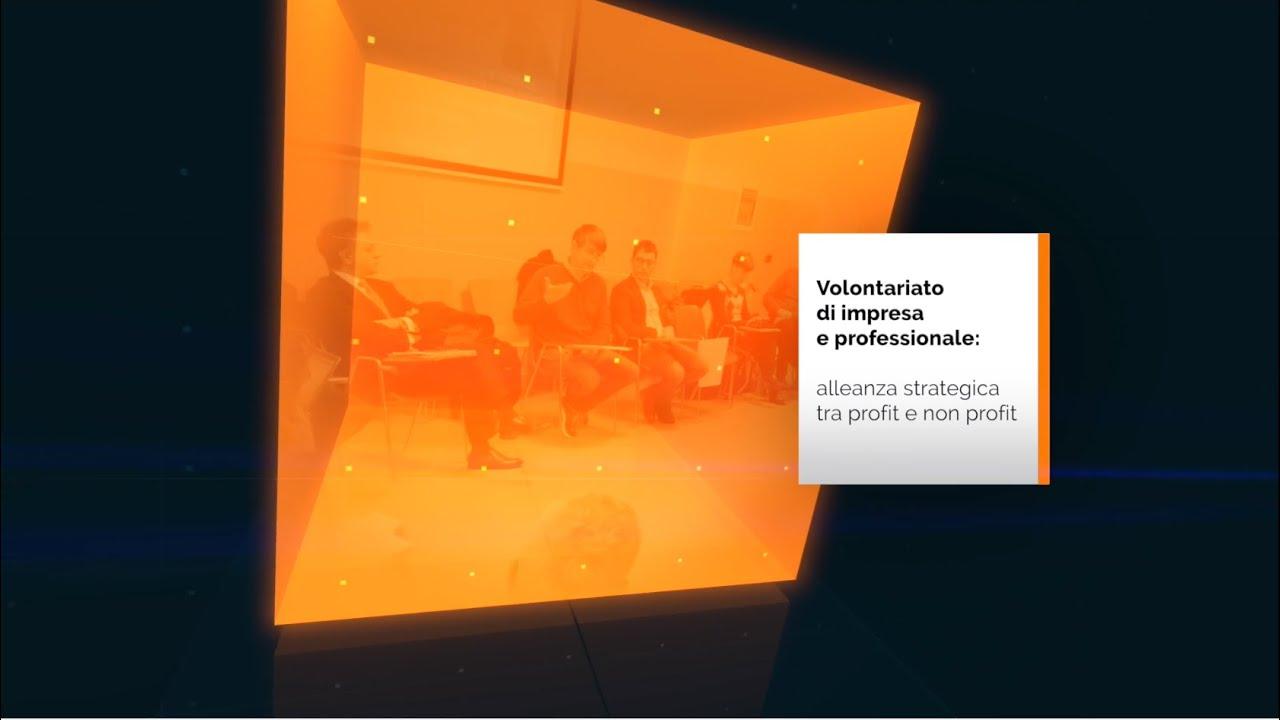 Volontariato d'impresa e professionale- video introduttivo