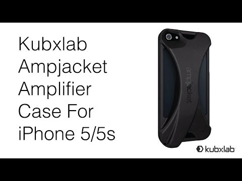 Make Your iPhone Speakers Louder! Kubxlab Ampjacket Amplifier case For iPhone 5/5s Review (HD 1080p)