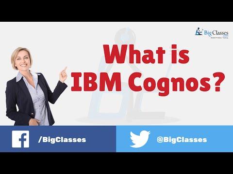 What is IBM Cognos? - Cognos Tutorial - Bigclasses