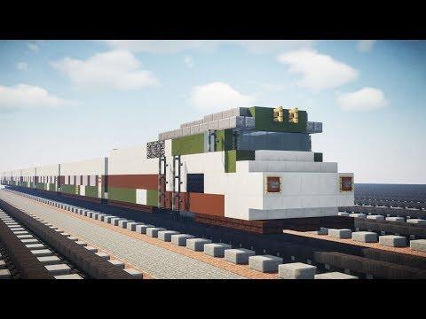Minecraft Amtrak Cascades Talgo Coaches Tutorial