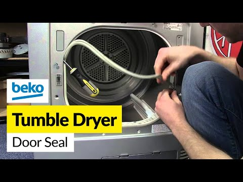 How to Change the Door Seal on a Tumble Dryer (Beko)