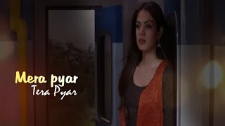Mera Pyar Tera Pyar Lyrics - Arijit Singh | Jalebi 2018