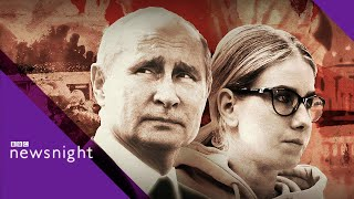 Moscow protests: Police crackdown and opposition activist Lyubov Sobol arrested - BBC Newsnight