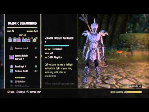 ESO: How Do Summons Scale