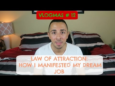 LAW OF ATTRACTION | HOW I MANIFESTED MY DREAM JOB