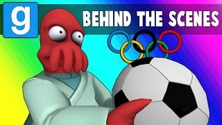 Gmod Olympics Behind the Scenes - Bloopers & Funny Moments (Garry