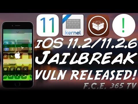 iOS 11.2/11.2.6 MASSIVE JAILBREAK UPDATE: New Kernel Vuln RELEASED | iOS 11.2.6 Unsigned