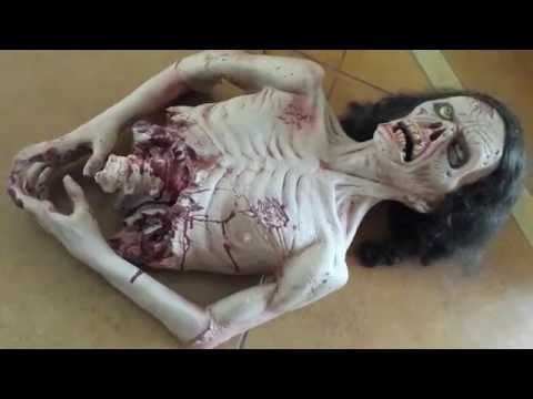 Twitch Zombie Prop Moving Halloween Decoration
